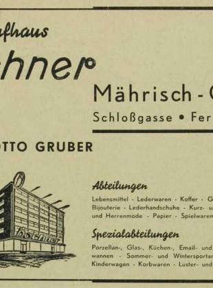 Adressbuch und Branchenbuch für den Oberlandratsbezirk Mährisch Ostrau (Mährisch Ostrau, Schlesisch Ostrau, Friedeck, Friedberg, Wallachisch Meseritsch und Wsetin) Str. 680 (detail)